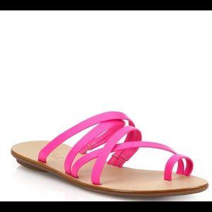 Loeffler randall Sarie hot pink sandal 10M